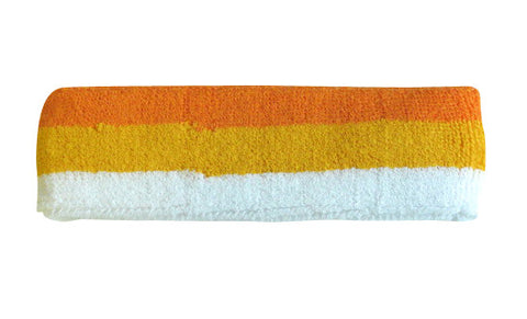 Orange Yellow and White Sports Quality Headband