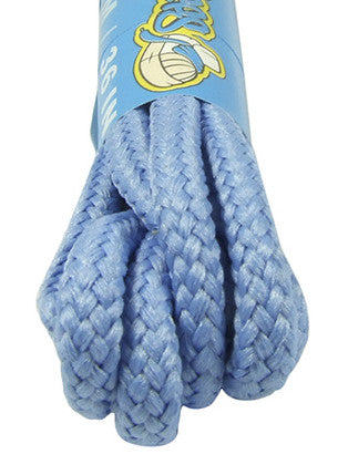 Round Sky Blue Shoe Boot Laces