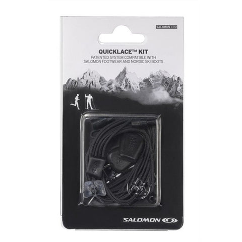 Salomon Quicklace Black Relacing Kit