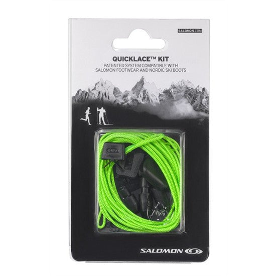 Salomon Quicklace Green Relacing Kit