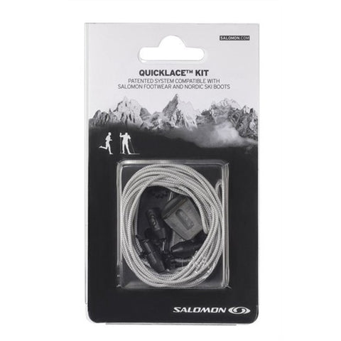 Salomon Quicklace Grey Relacing Kit