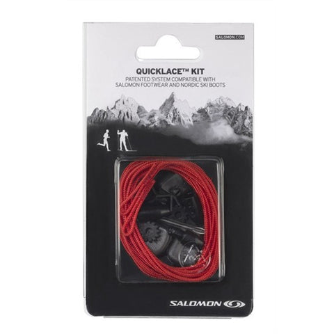 Salomon Quicklace Red Relacing Kit