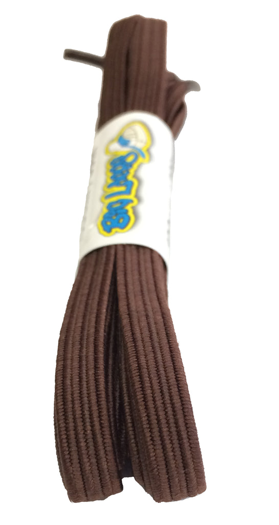 Elastic Brown Shoelaces