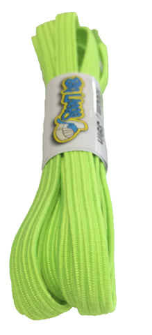 Elastic Neon Yellow Shoelaces
