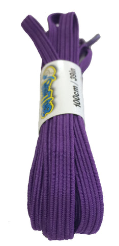 Elastic Violet Shoelaces