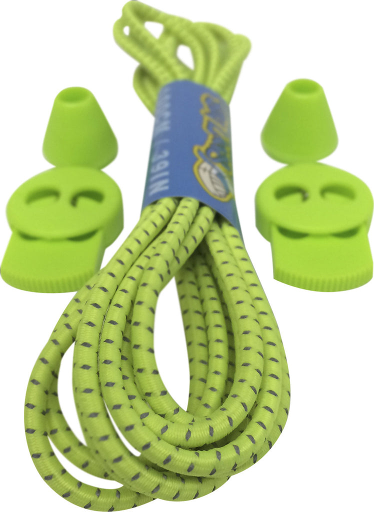 Neon Yellow Lock Laces