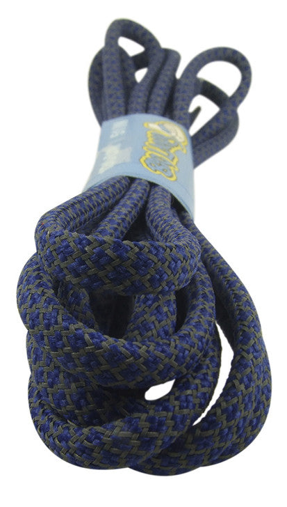 Rope Style Round Royal Blue Laces
