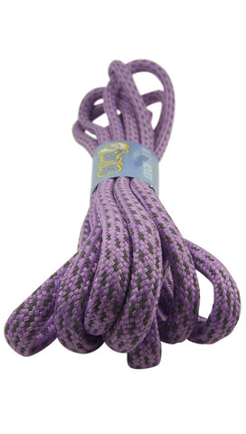 Rope Style Round Lilac Laces