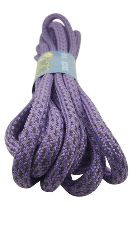 Rope Style Round Lavender Laces