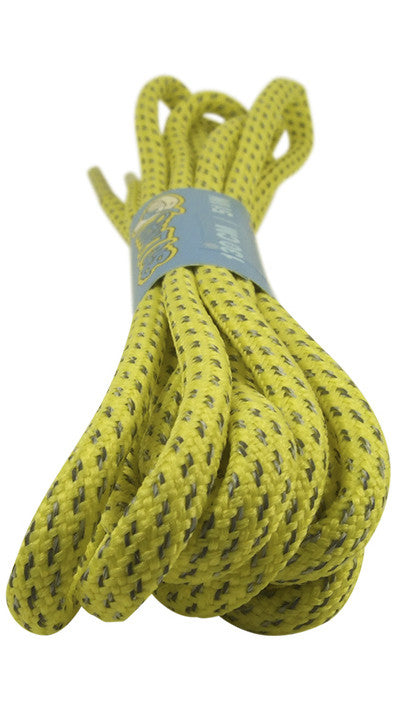 Rope Style Round Yellow Laces