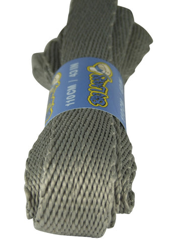 Super Wide Flat Light Grey Shoe Laces - 20mm wide