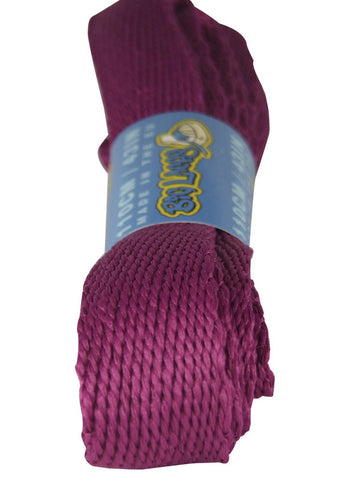 Super Wide Flat Plum Shoelaces - 20mm wide