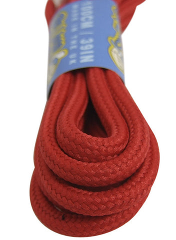 Round Red 5mm wide Laces