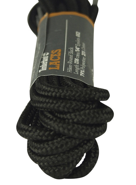 Timberland Black Hiker Replacement Laces