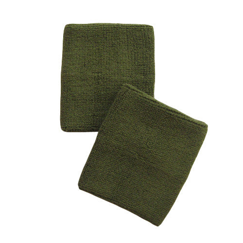 Army Green Sports Quality Wristbands