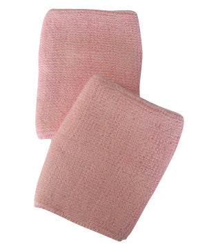 Light Pink Sports Quality Wristbands