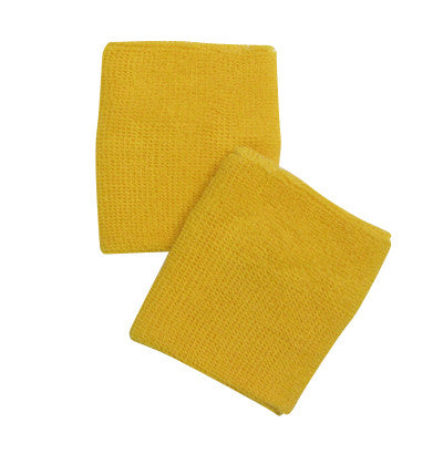 Yellow Sports Quality Wristbands