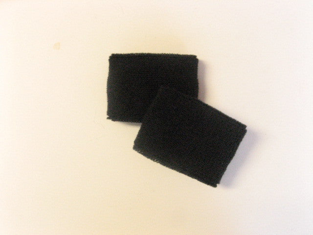 Small Black Sports Quality Wristbands