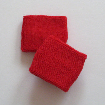Small Red Sports Quality Wristbands