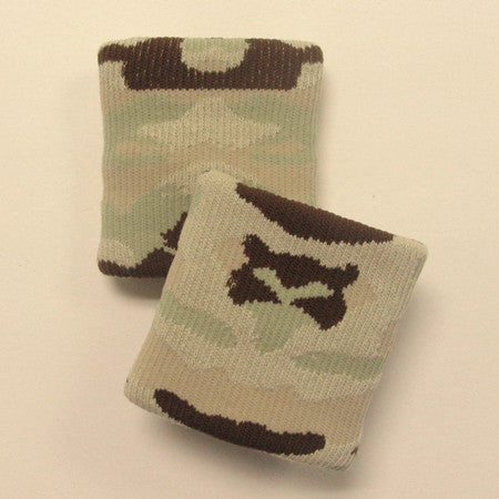 Urban Beige and Brown Camo Sports Quality Wristbandss