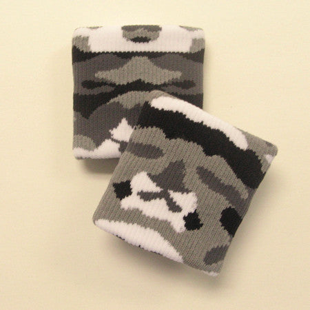 Urban Grey Camo Wristbands