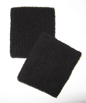 Large Black Wristbands