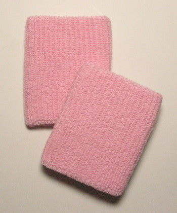Large Light Pink Wristbands