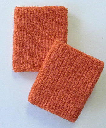 Large Orange Wristbands