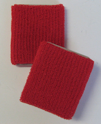 Large Red Wristbands