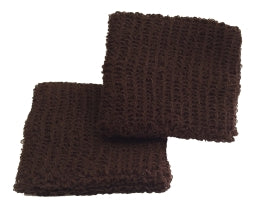 Small Dark Brown Wristbands