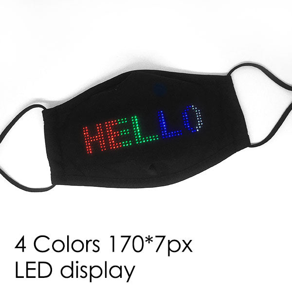 WHOLESALE LED APP-CONTROLLED FACE MASK