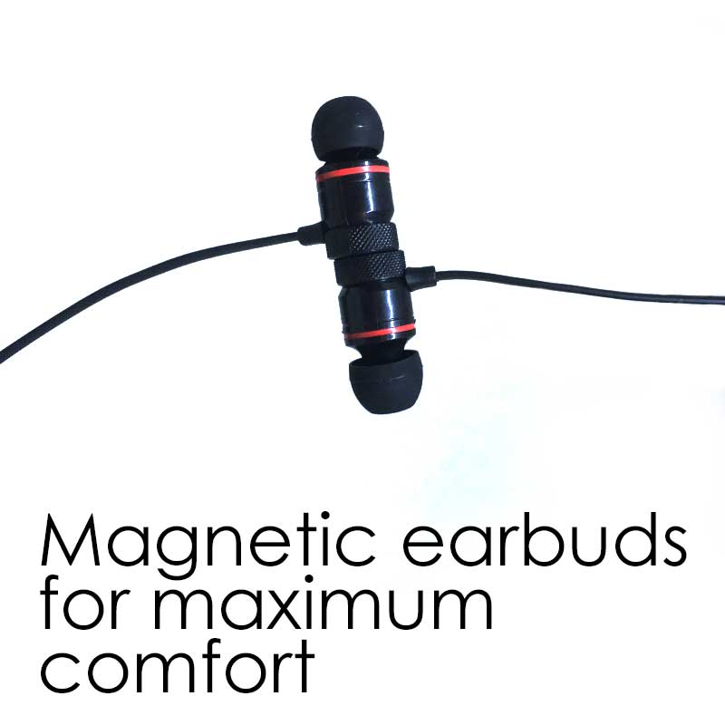 MaskCall | Mask with integrated wireless earbuds & microphone