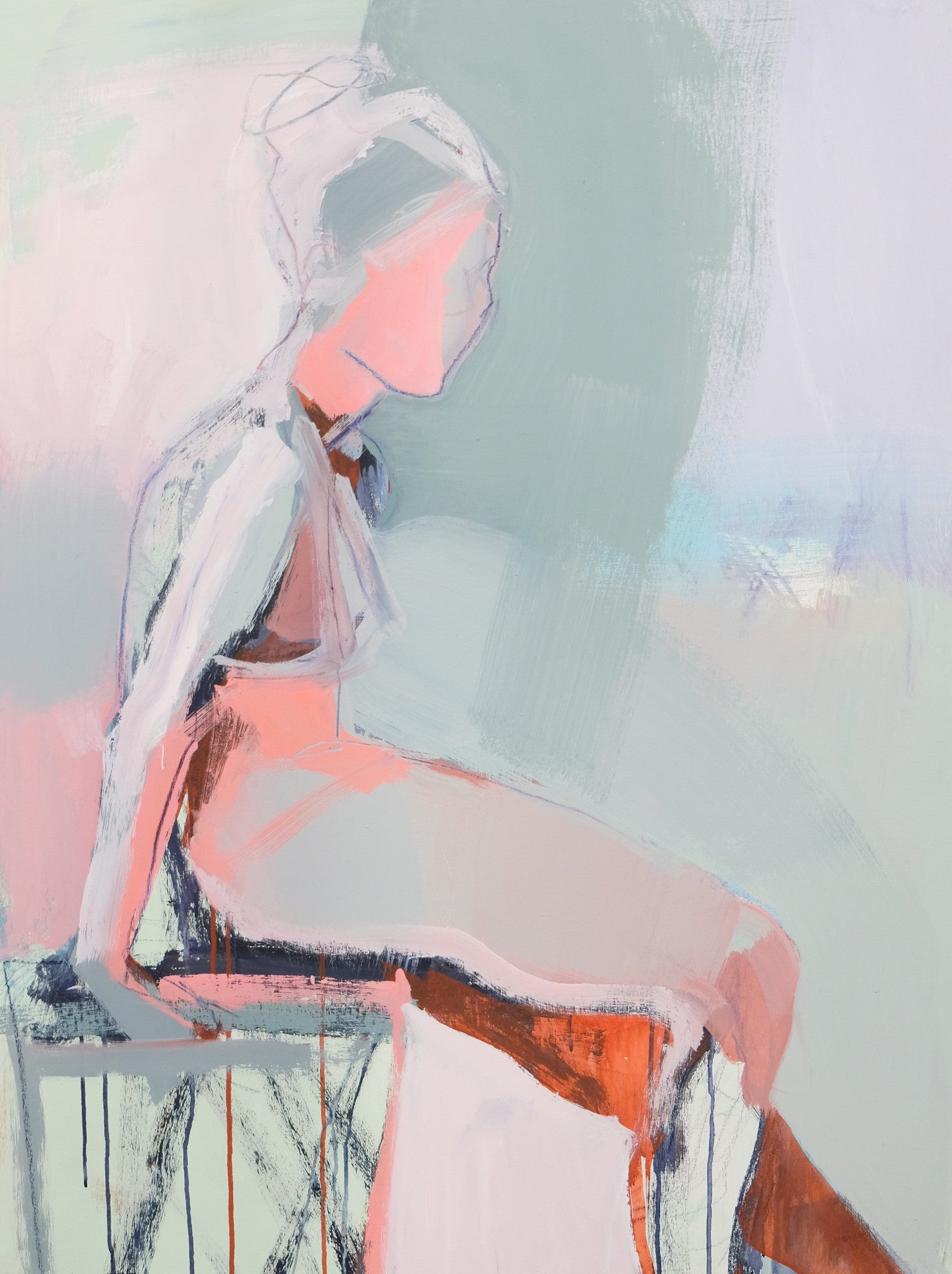 Ballerina Stretch, 30x40