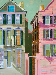"French Quarter Neighbors II, 22""x30"""
