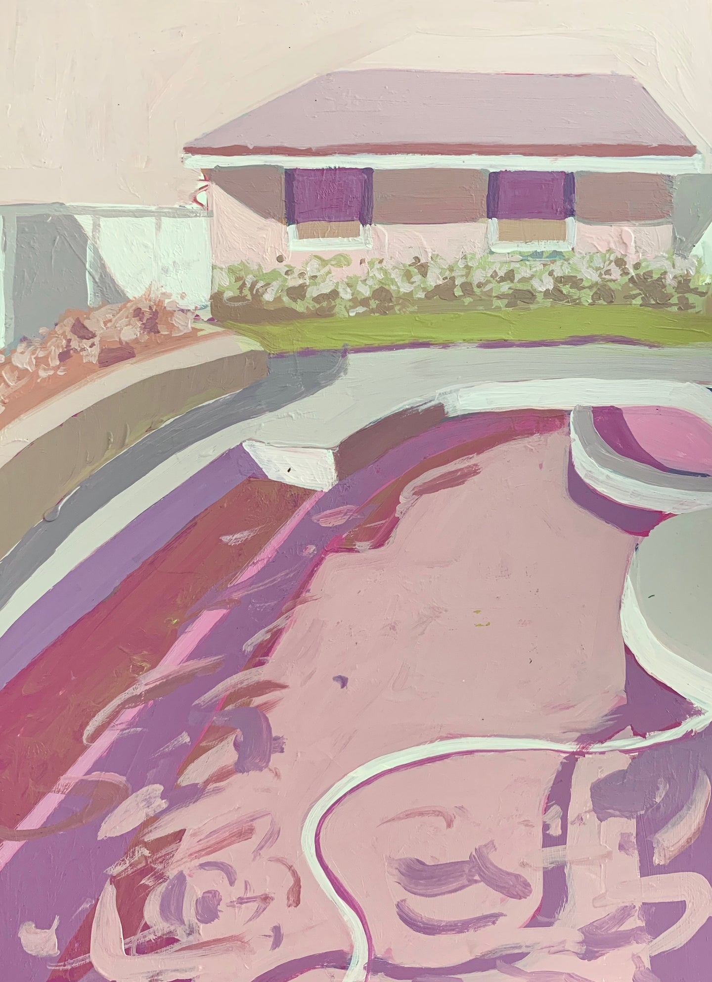 Pool House in Pink, 12