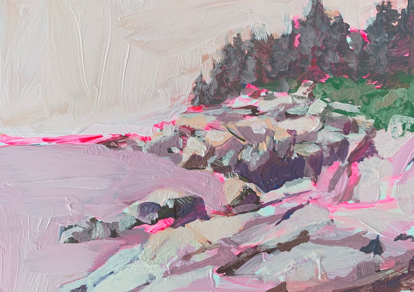 Pink Pebble Beach, 5