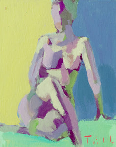 "Summer Figure Study No. 2, 8""x10"""