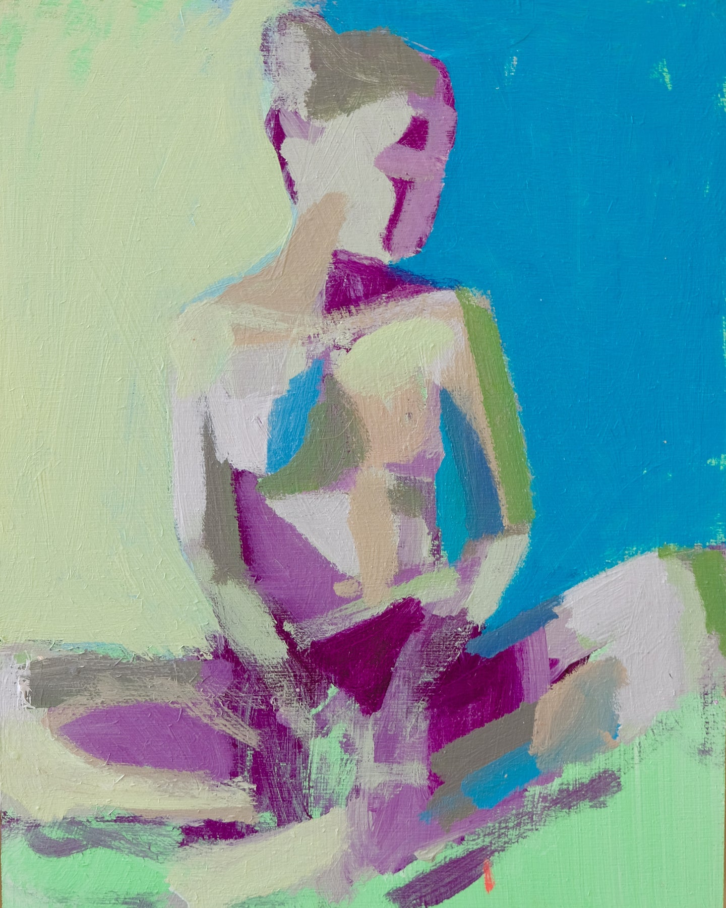 Summer Figure Study No. 1, 8