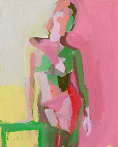 "Summer Figure Study No. 4, 8""x10"""