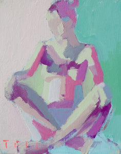 "Summer Figure Study No. 6, 8""x10"""