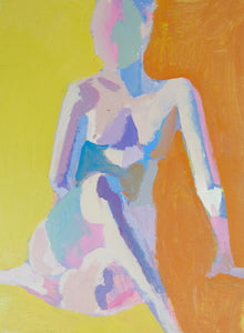 "Summer Figure Study No. 16, 9""x12"""