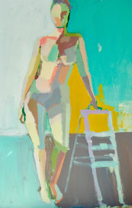"Summer Figure Study No. 28, 24""x30"""