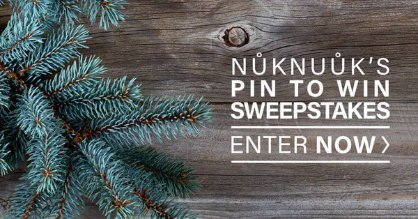 Enter Nuknuuk's Pin to Win Sweepstakes now!