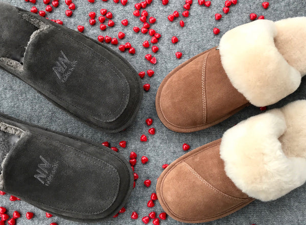 His and Hers Nuknuuk Slippers