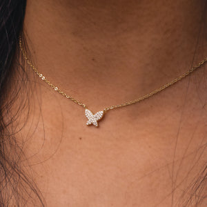 Fly butterfly Necklace