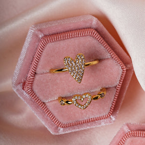 Oh my Love heart ring