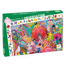 Load image into Gallery viewer, Djeco 200 Piece Observation Puzzle Rio Carnival
