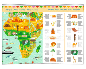 Djeco 200 Piece Observation Puzzle - Around The World
