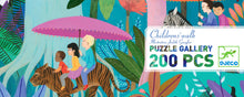 Load image into Gallery viewer, Djeco 200 Piece Gallery Puzzle - Childrens' Walk