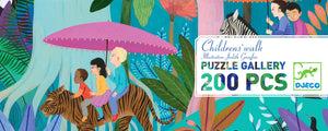 Djeco 200 Piece Gallery Puzzle - Childrens' Walk